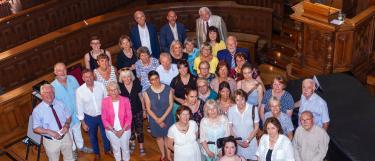 Würdigung der ehrenamtlichen Mitarbeiterinnen und Mitarbeiter der Universität Heidelberg 2019