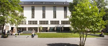 Innenhof der Neuen Universität